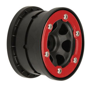 Pro-Line Epic 2.2 Bead Lock Wheel, Rear w/Red Aluminum Ring (2)