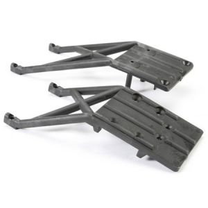 Skid Plates, Black, Front/Rear